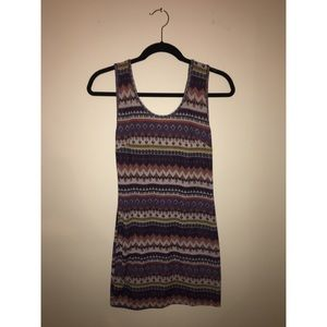 Nasty Gal Lattice Back Dress